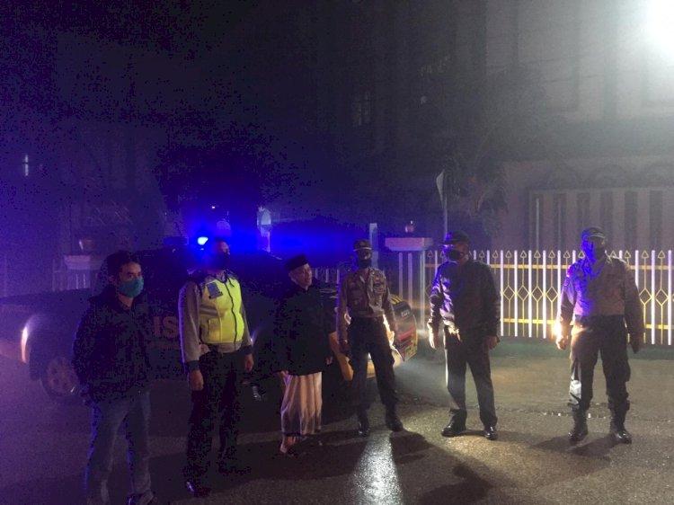 Kabag Ops Polres TTS Pimpin Patroli Malam