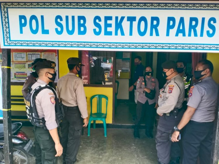 Kasat Binmas Polres TTS Patroli dan Sambang ke  Pos Pam Ketupat Turangga-20