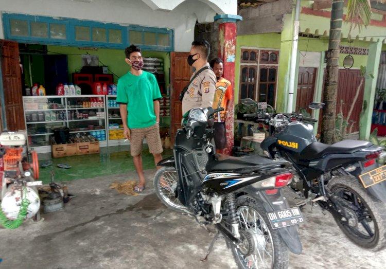 Patroli Sambang, Anggota Polsek Sosialisasikan AKB