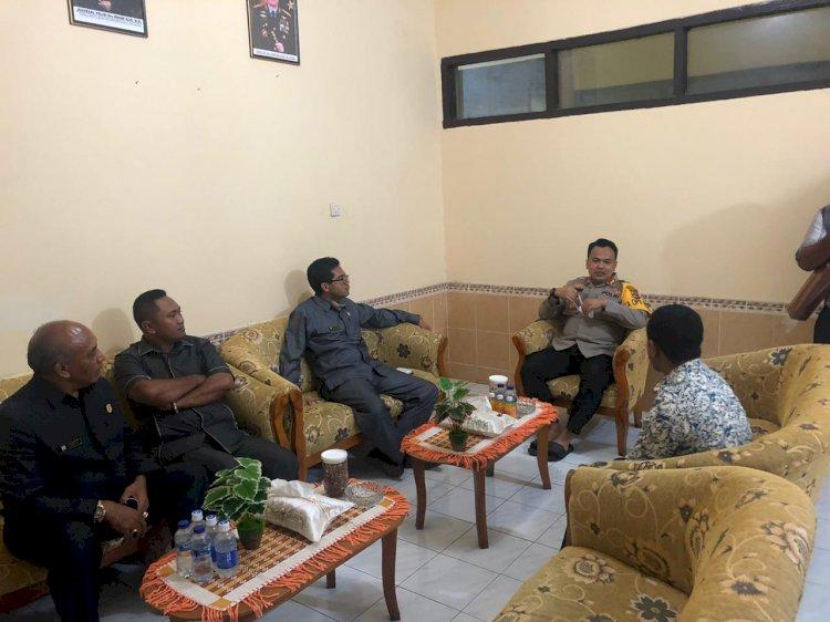 Kapolres TTS Menerima Kunjungan Silahturahmi Ketua DPRD Kabupaten TTS