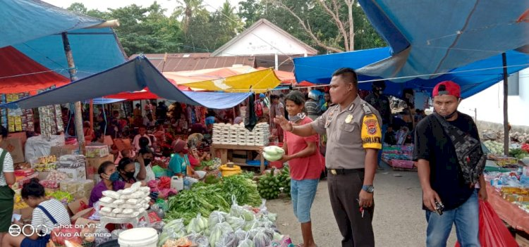 Pasar Mingguan, Bhabinkamtibmas Patroli Dialogis