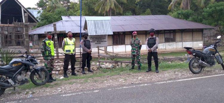 Sinergi, TNI- Polri Pengamanan perayaan Natal Desember 2020