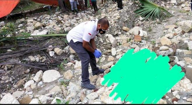 Kasus Pembunuhan,Sat Reskrim Polres TTS Olah TKP