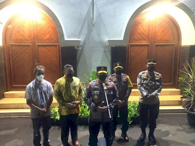 Kapolri Kunjungi Katedral Jakarta, Pastikan Ibadah Misa Aman