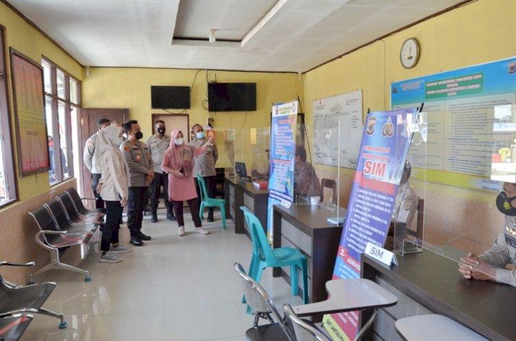 Tim Penilai Nasional Pembangunan Zona Integritas Kemenpan RB Tinjau Wilayah Bebas Korupsi Polres TTS