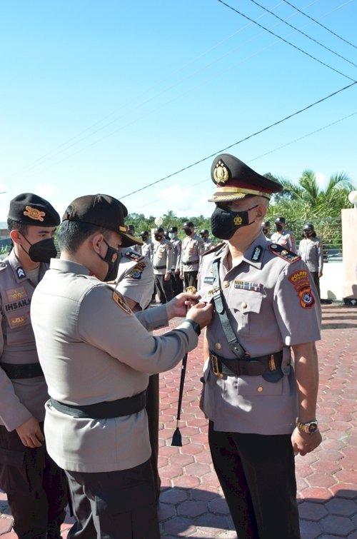 Kapolres TTS Pimpin Sertijab Waka Polres dan Sejumlah Kasat , Kapolsek