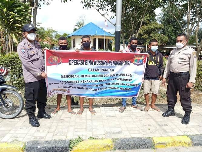 Operasi Bina Kusuma Ranakah -2021, Polres TTS Laksanakan Binluh