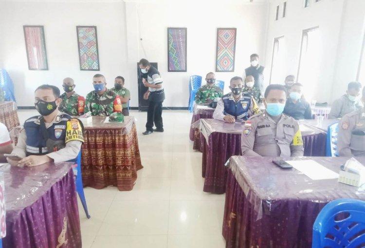 Bhabinkamtibmas Jajaran Polres TTS Ikuti Pelatihan Tracer