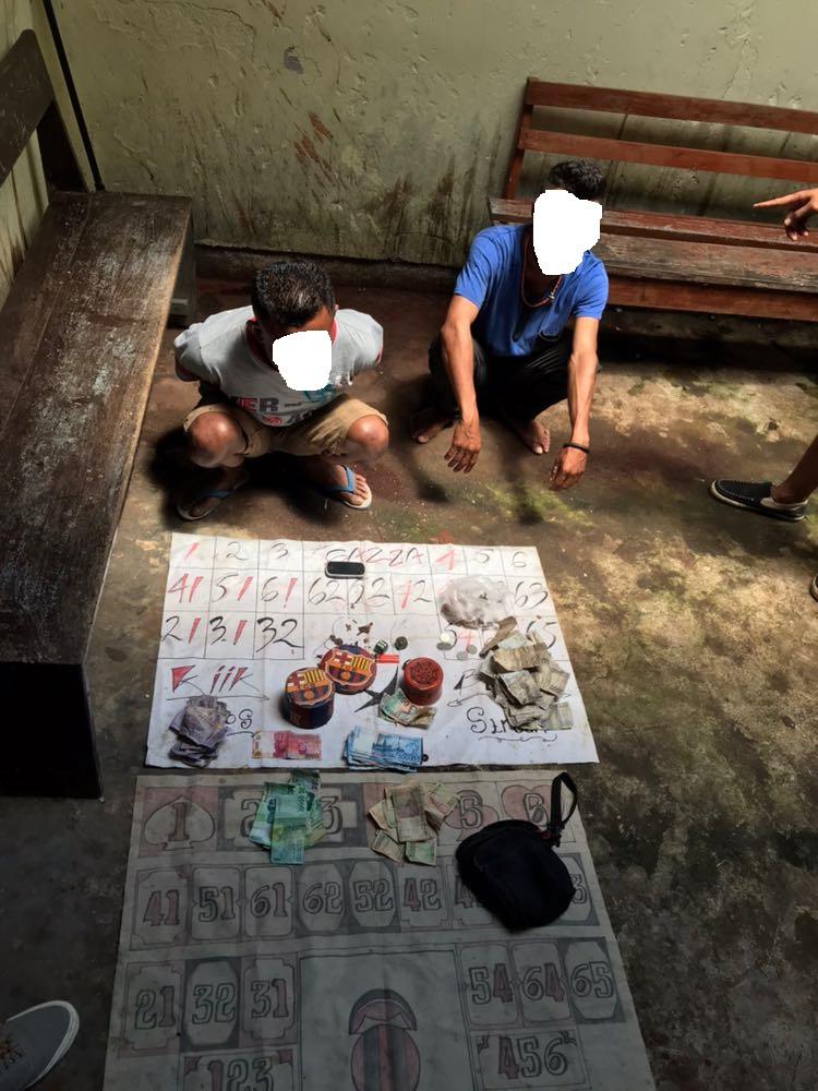 Melakukan Permainan Judi , 2 Pemuda   Diamankan Tim Buser Polres TTS