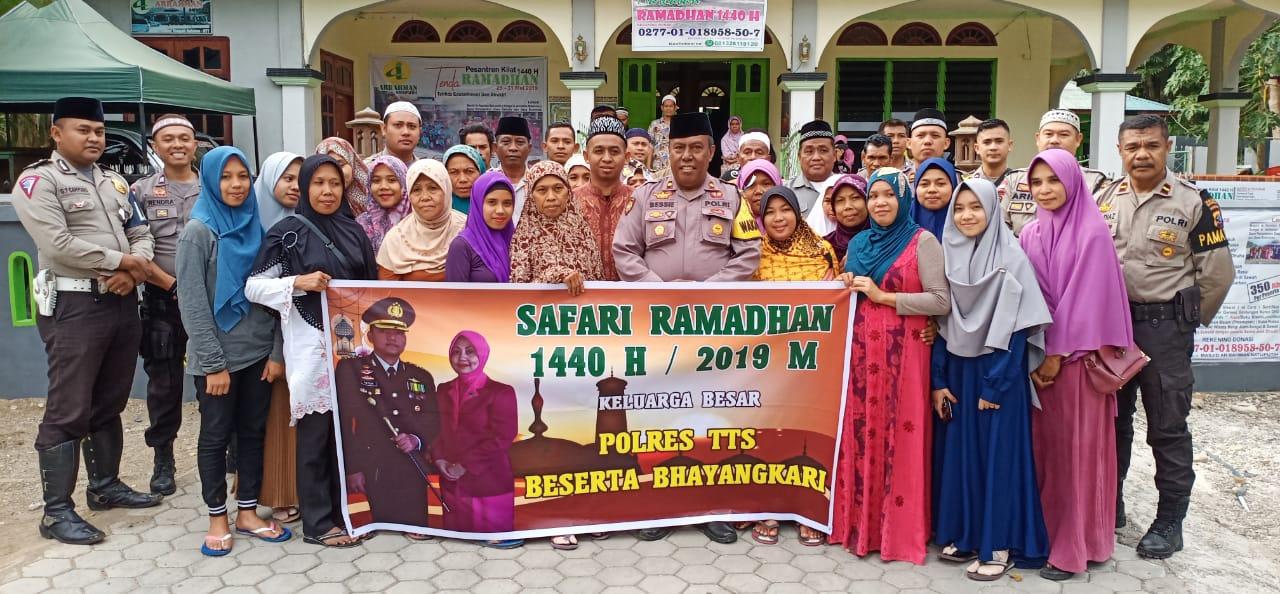 Polres TTS Gelar Safari Ramadhan