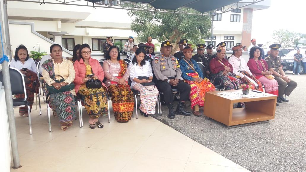 Waka Polres TTS Hadiri Upacara Peringatan Hari Lahir Pancasila
