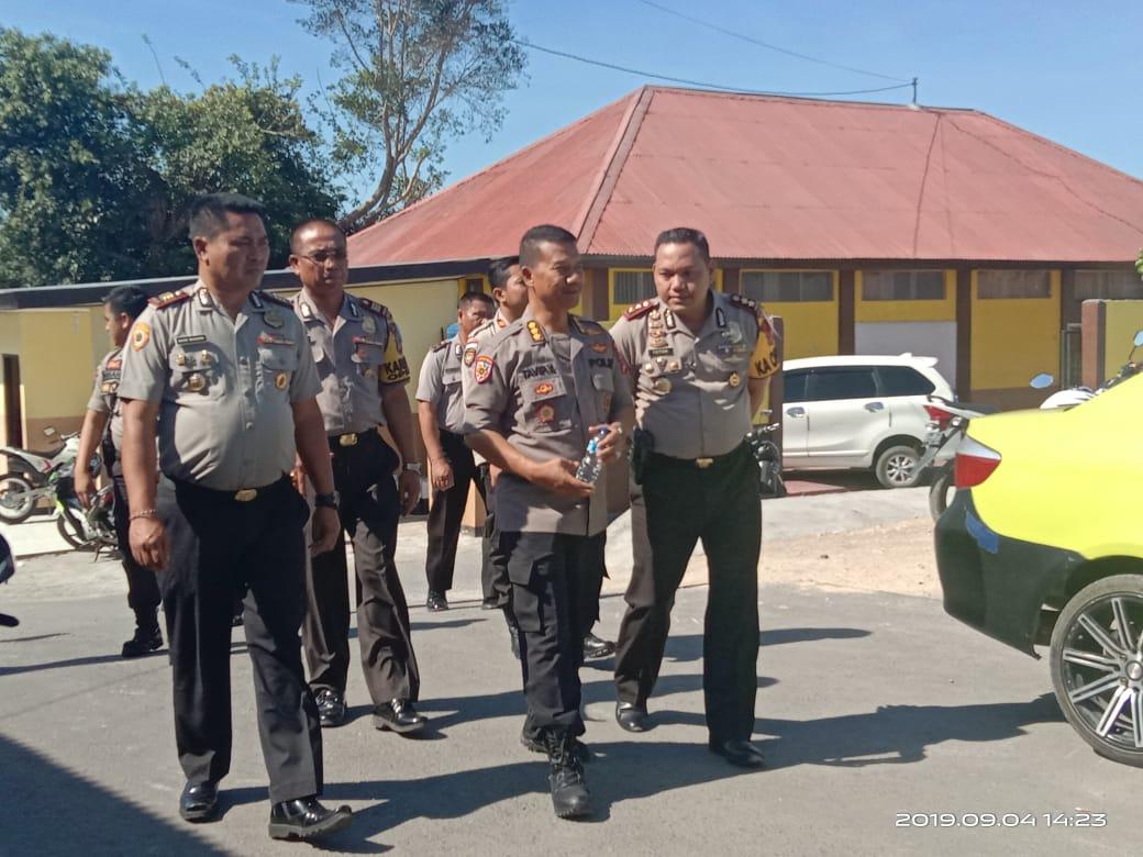 Irwasda Polda NTT Melaksanakan Kunjungan di Polres TTS