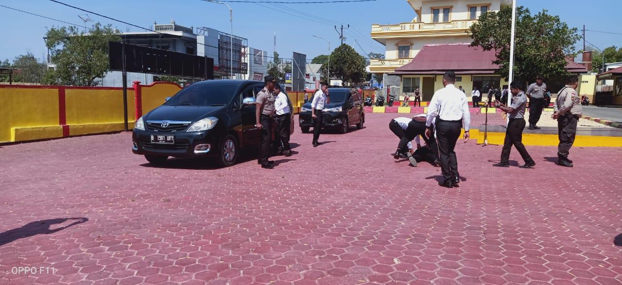 Polres TTS Gelar Pengamanan VIP Protection
