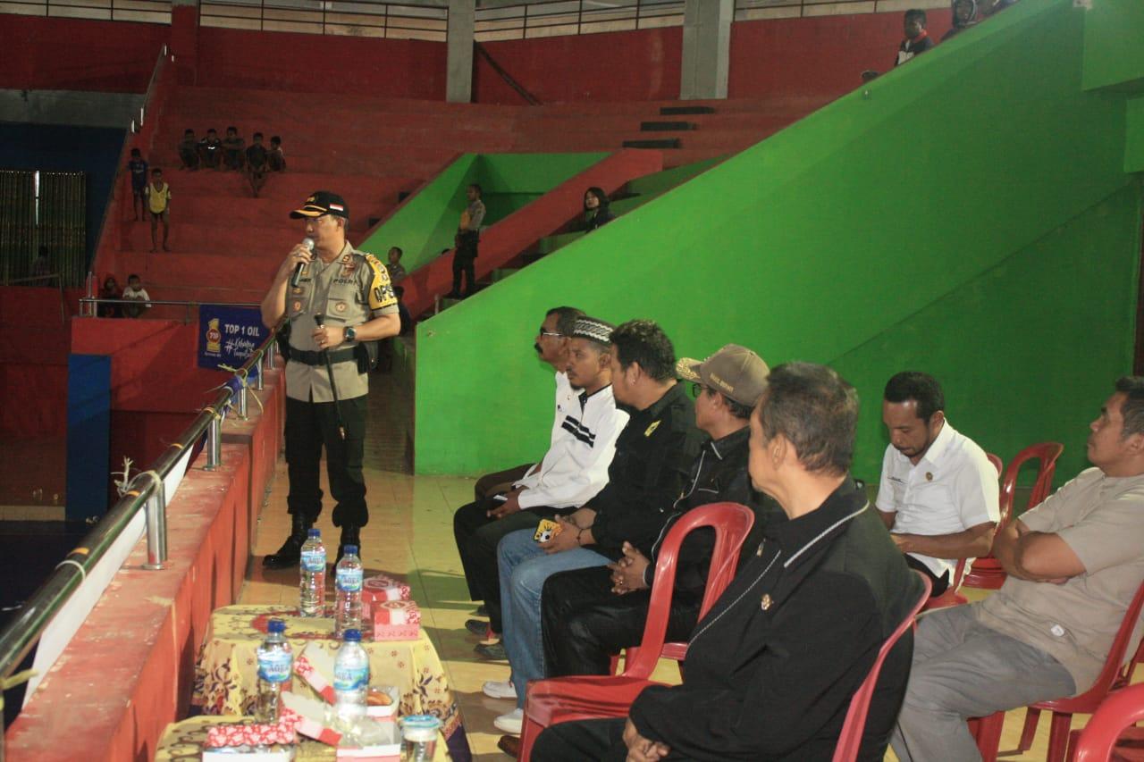 Hadiri Pembukaan Turnamen Futsal, Kapolres TTS Beri Sambutan