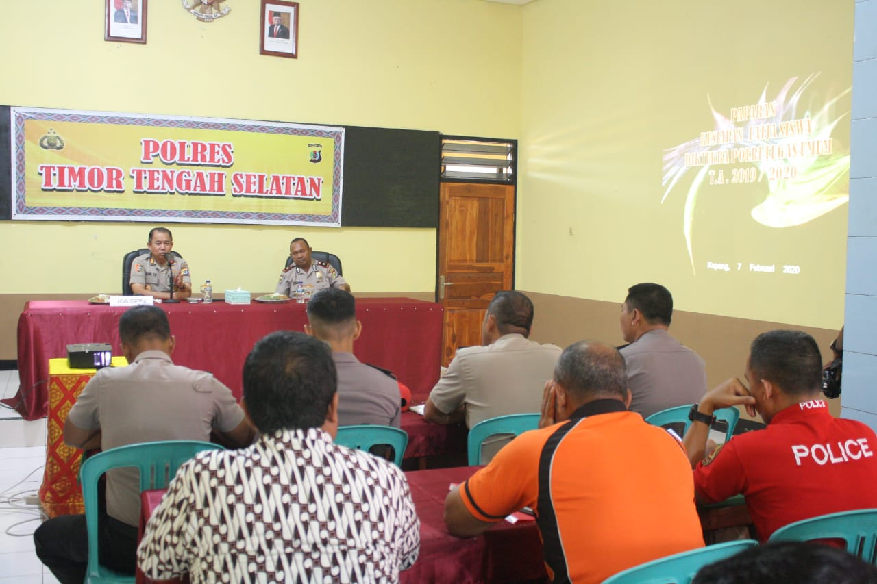 Ka SPN Kupang Survei Lokasi Kegiatan Siswa  Latja  Diktuk Bintara Polri