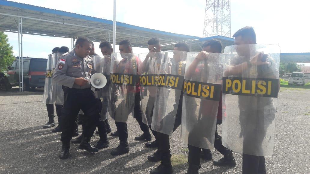 Sat Samapata Polres TTS Rutin Latihan Dalmas